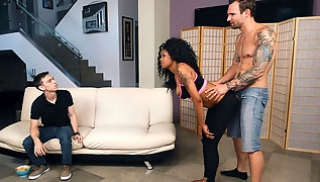 Russian Porn Download - The guy allowed his black girlfriend to fuck with his best friend