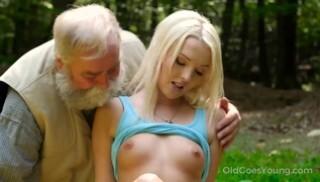 Russian Porn Video - An old mushroom picker with a beard and a lone tourist slept in a clearing
