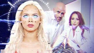 Русское Порно Bидео - Блондинка сделала куни опытной тетке и предложила лысому секс втроем