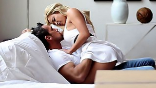 Russian Porn Video - Macho enjoy deep blowjobs and licked the slit blonde Mia Lelani