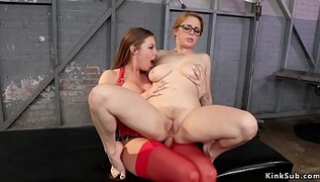 Porn Zab - Red-haired beast licked the point of a friend and was engaged to her lesbian sex
